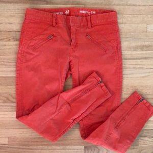 Gap Skinny Mini Moto Style Jeans